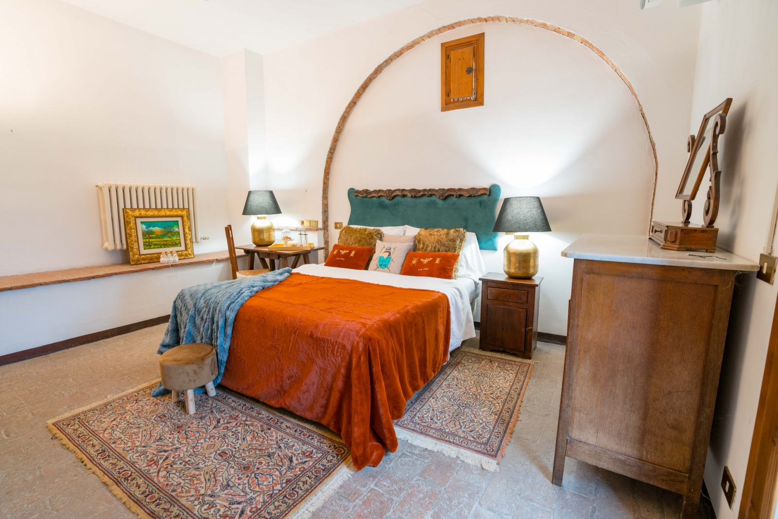 Tuscan Boutique Hotel with Michelin-Star Restaurant in Montefollonico, Italy