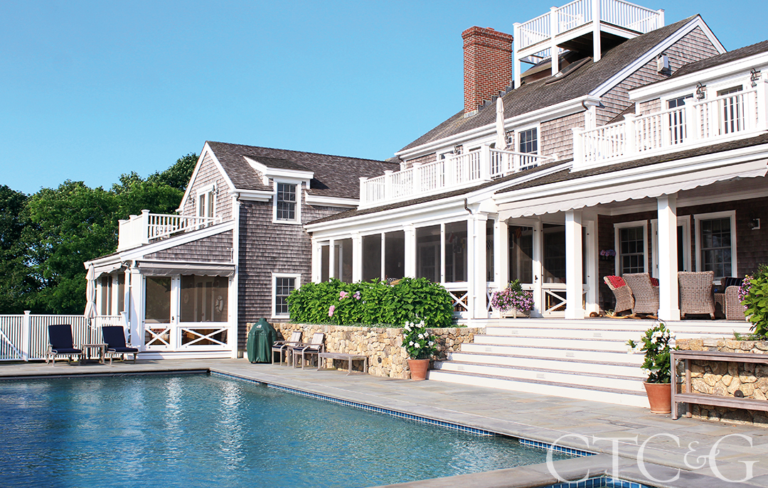 Nautical Notes Fill a Nantucket Home Designed by Anthony Baratta