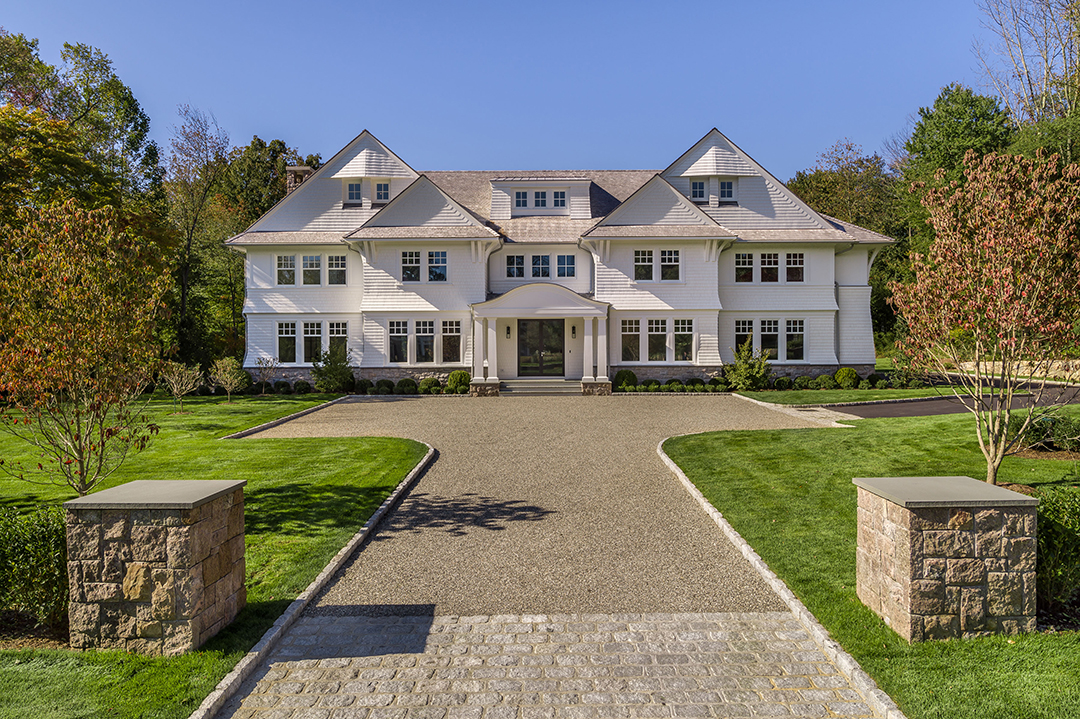 A Dazzling New Build in New Canaan Seeks $4.5M