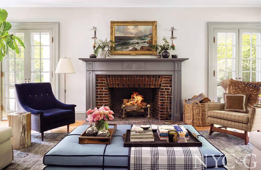 Designer Ashley Darryl Blends Old and New in Her Colonial-Style Stunner