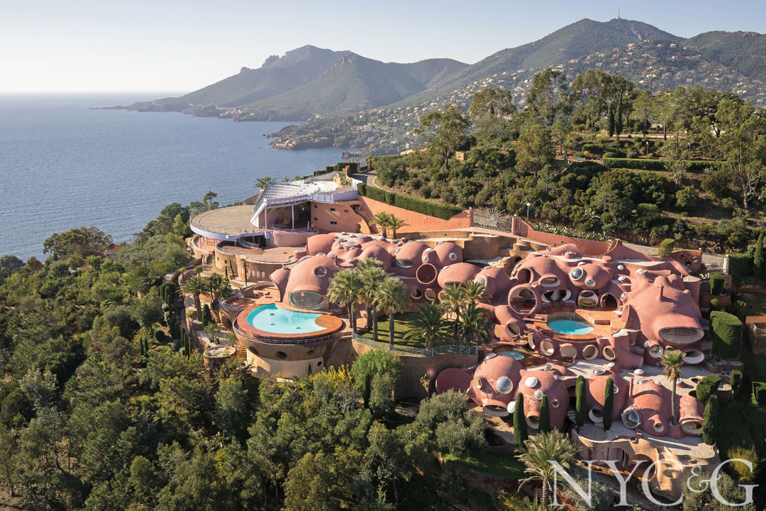 Pierre Cardin's Bubble Palace is on the market for $383.9M