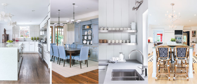 Open Kitchens, Four Ways: Modern, Refined, Organic and Traditional