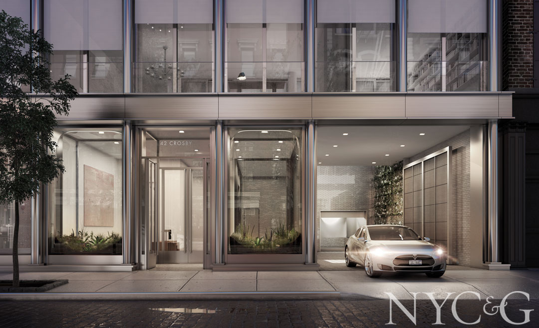 SoHo's 42 Crosby, a 10-unit condo designed by architect Annabelle Selldorf, is giving Midtown supertowers a run for their money.