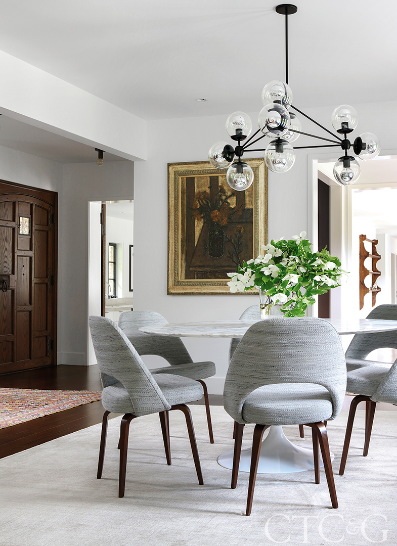 Contemporary and Traditional Design Meld in this Historic Greenwich Home